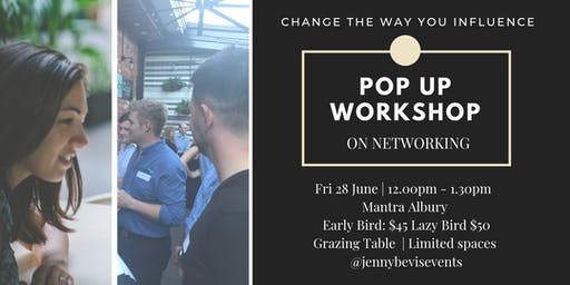 Pop Up Workshop | On Networking