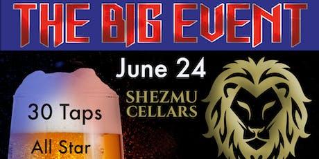 THE BIG EVENT SHEZMU BREWERY tickets