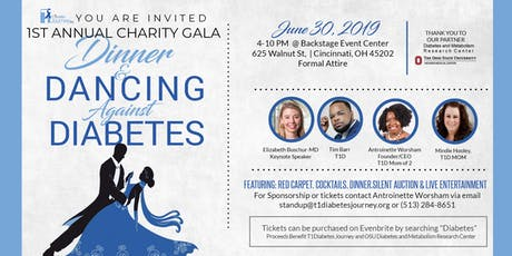 "T1Diabetes Journey 1st Annual Charity Gala ""Dinner & Dancing Against Diabetes"" tickets"