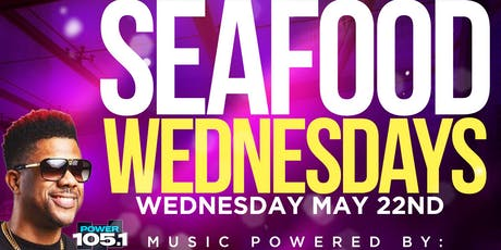 Seafood Wednesday's at Starz tickets