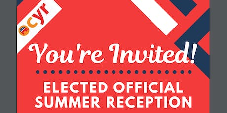 July 18 - OCYR: Elected Official Summer Reception tickets