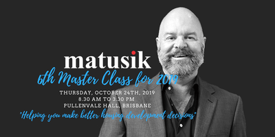 Matusik Master Class #6 : 24th October 2019