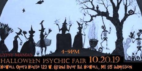 Halloween Psychic Fair-Howell Opera House tickets