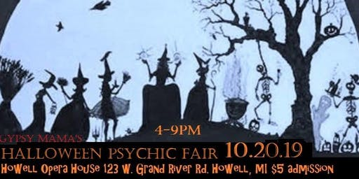 Halloween Psychic Fair-Howell Opera House