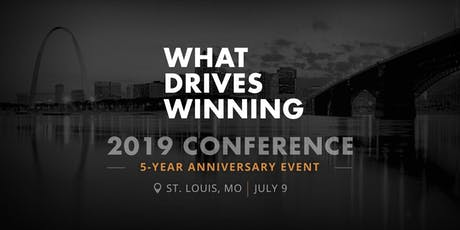 What Drives Winning  2019 Conference tickets