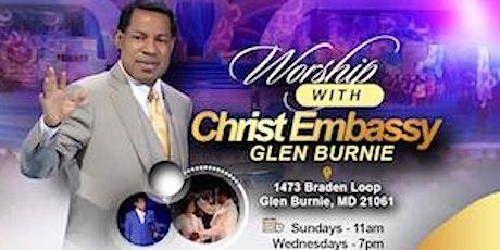 Christ Embassy Glen Burnie tickets