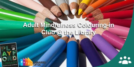 Adult Mindfulness Colouring-in Club  tickets