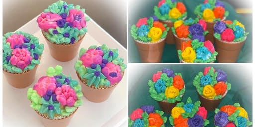 MS Fundraiser Cupcake Flower Pot Workshop