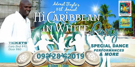 Adonal Foyle's 15th Annual Hi Caribbean Event Benefiting the Kerosene Lamp Foundation tickets