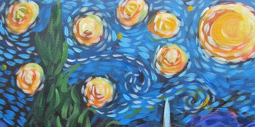 Guided Painting : Paint your own Van Gogh