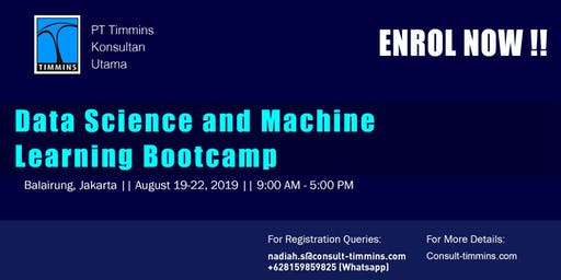 Data Science and Machine Learning Bootcamp in Jakarta