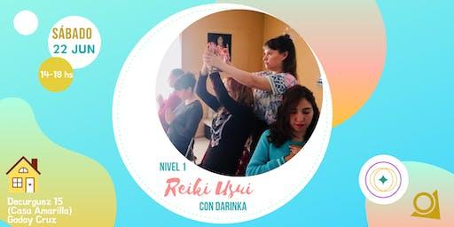Iniciación en Reiki Usui (Diploma de la Alianza Argentina de Reiki)