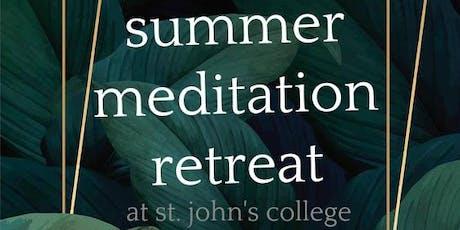 Summer Meditation Retreat tickets