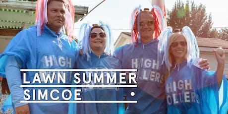 Simcoe Pop Up - Social Tickets @ Lawn Summer Nights tickets