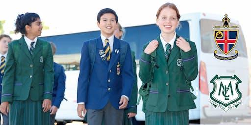 Combined Christ Church Grammar School and MLC Senior School tour