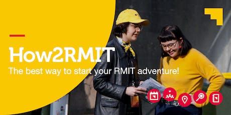 How2RMIT Induction Session (Bundoora Campus) tickets