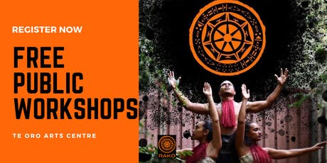 DANCE WORKSHOPS WITH RAKO PASEFIKA tickets