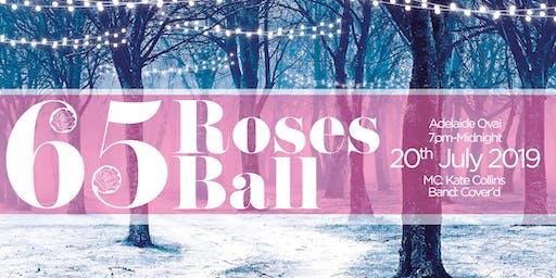 Cystic Fibrosis SA 65 Roses Ball 2019