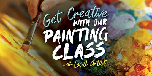 Get Creative in a Painting Class with Local Artist