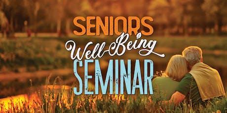 Seniors Well-Being Seminar tickets