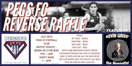 PEGS FC Reverse Raffle tickets