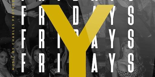 #YBARFRIDAYS at YBAR