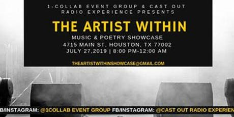 The Artist Within-Music & Poetry Showcase tickets