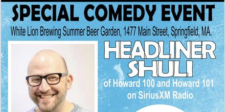 Shuli Egar LIVE at White Lion Beer Garden tickets