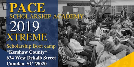 Pace Scholarship Academy's EXTREME Scholarship Bootcamp (Camden, SC)
