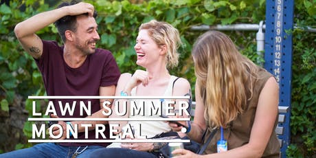 Montreal Pop Up - Social Tickets @ Lawn Summer Nights tickets