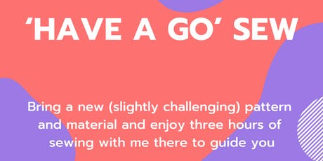 Have a Go Sew tickets