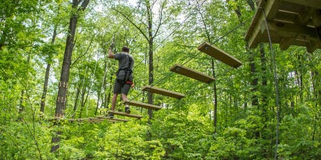 TreEscape Aerial Adventure Park w Transport - 07/14/2019 Sunday tickets