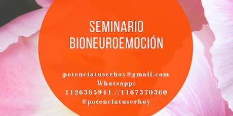 Seminario Bioneuroemoción entradas
