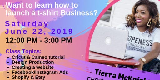 TEE SCHOOL : Learn how to launch your t-shirt business from start to finish.