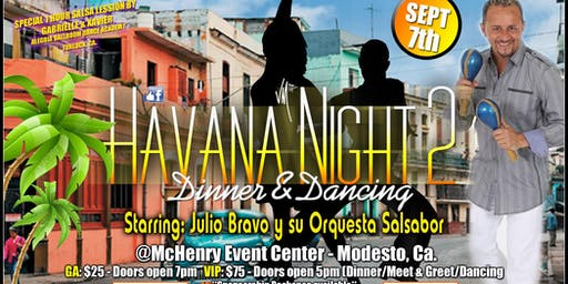 Havana Night 2 Feat. Julio Bravo  y su Orquesta Salsabor