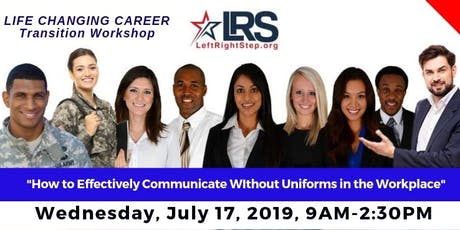 Career Transition Workshop for Veterans & Military Families by LeftRightStep.org - July 2019 tickets