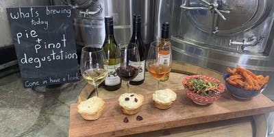 Tractorless Vineyard Pie and Pinot Degustation