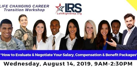 Career Transition Workshop for Veterans & Military Families by LeftRightStep.org - August 2019 tickets
