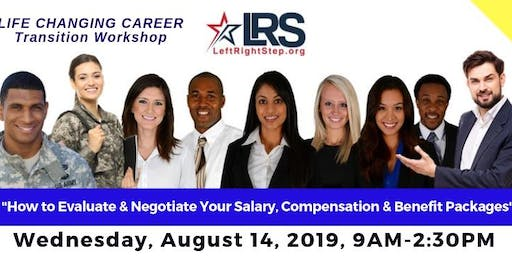 Career Transition Workshop for Veterans & Military Families by LeftRightStep.org - August 2019
