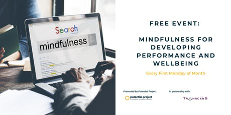 FREE EVENT: Mindfulness for Developing Performance and Wellbeing tickets