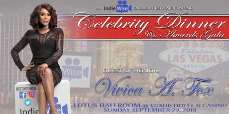 VIP Red-Carpet Celebrity Dinner Gala [Live with Vivica A. Fox] tickets