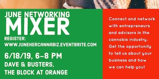 June: HerCannabiz Business Networking Mixer
