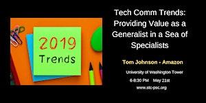 Generalist vs. Specialist - Tom Johnson - May Chapter...