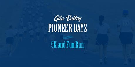 2019 Pioneer Days 5K and Fun Run tickets