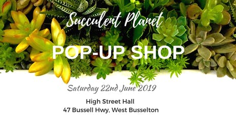 Succulent Planet in the South West Pop-up Plant Sale tickets