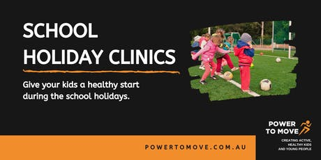 Power to Move School Holiday Clinic tickets
