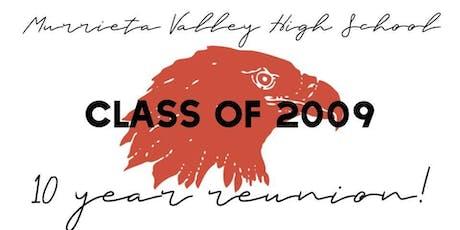 MVHS Class of 2009 10 - Year Reunion tickets