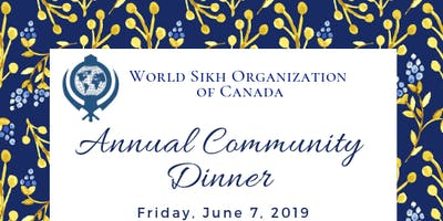 WSO BC - Annual Community Dinner