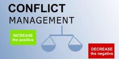 Conflict Management Training in Rockville, MD on December 02nd  2019