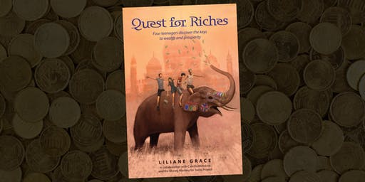 Book Launch: Novel about Financial Literacy – for teens!